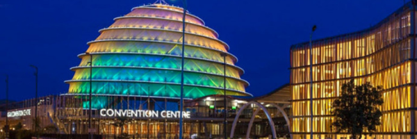 Kigali Convention Centre from outside