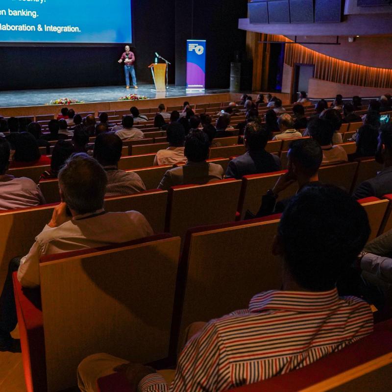 Inside the auditorium - April Event